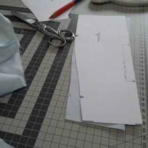 Outils et patrons couture à l'atelier L'imaginarium
