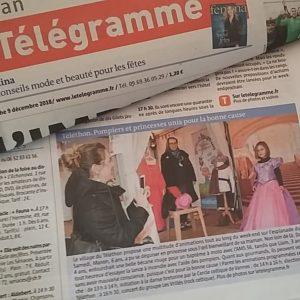 Le Télégramme 09 décembre 2018