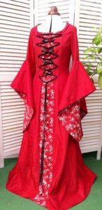 Robe médiévale Pauline
