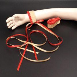 Bracelet à rubans légers pour danser comme une princesse