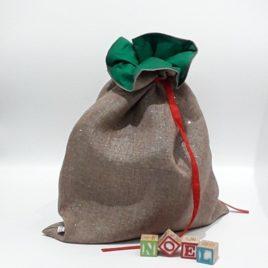 Sac cadeaux de Noël réutilisable